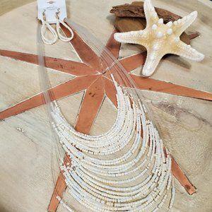 Threadzwear | Multi Strand Beaded Necklace Set